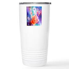 Hand biometrics Travel Mug