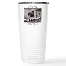 Jump - Agility Scottie  Travel Mug