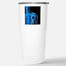 Shoulder bones, artwork Travel Mug