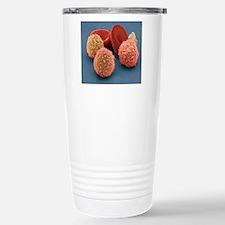 Human blood cells, SEM Travel Mug