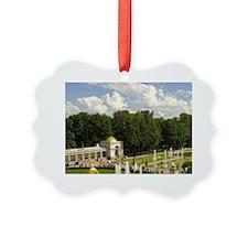 Russia. Petrodvorets. Peterhof Pa Ornament