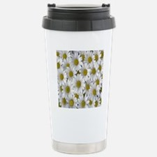 English Daisies Stainless Steel Travel Mug