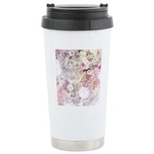 Pretty Flowers Travel Mug