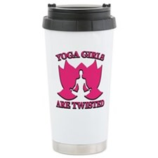 Yoga Girls are Twisted Travel Mug