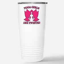 Yoga Girls are Twisted Travel Mug