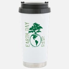 Earth Day 04/22 Stainless Steel Travel Mug
