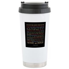 The Critic Travel Mug