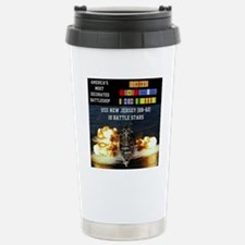 USS NEW JERSEY (BB-62) Stainless Steel Travel Mug