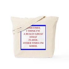 strat Tote Bag