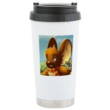 Market mouse button Travel Mug