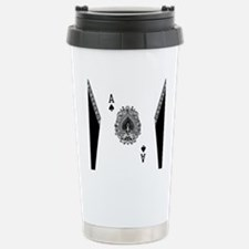 Ace of Spades Stainless Steel Travel Mug