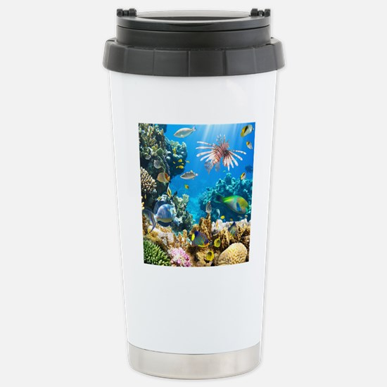 Sea Life Stainless Steel Travel Mug