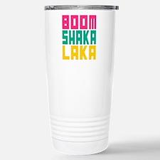 BOOMSHAKALAKA Stainless Steel Travel Mug