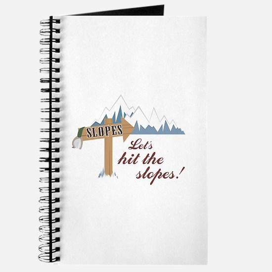 Let's Hit the Slopes! Journal