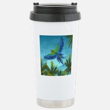 Tropical Bird Stainless Steel Travel Mug