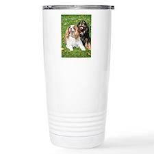 Happy Cavalier King Cha Travel Coffee Mug