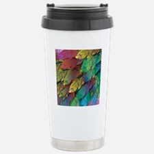 Parrot Feathers Stainless Steel Travel Mug