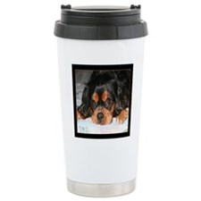 Puppy King Charles Span Travel Mug