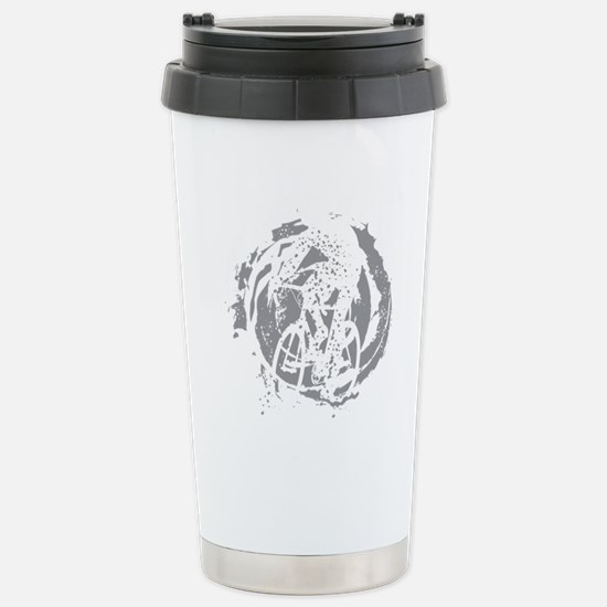 Psycho-Cross Stainless Steel Travel Mug
