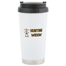 Cute Funny deer hunting Travel Mug