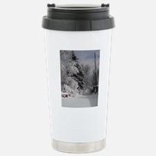 Oval Ornament Stainless Steel Travel Mug