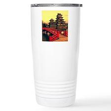 Pagoda with Bridge Travel Mug