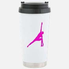 Bikram Yoga Triangle Po Stainless Steel Travel Mug