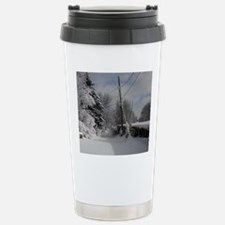 Oval Charm Stainless Steel Travel Mug