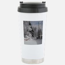 Square Charm Stainless Steel Travel Mug