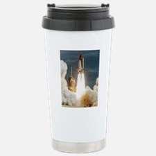Launch of shuttle missi Stainless Steel Travel Mug