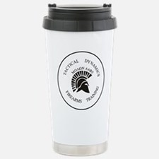 TacDynamics Shield Logo Stainless Steel Travel Mug