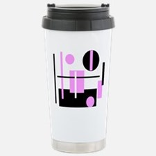 Fashionable pink black  Stainless Steel Travel Mug