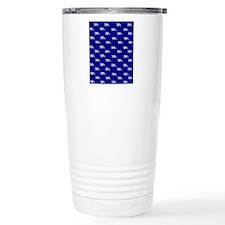 Blue His and Hers flip  Travel Coffee Mug