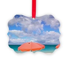 Beach chairs on Grace Baynciales  Ornament