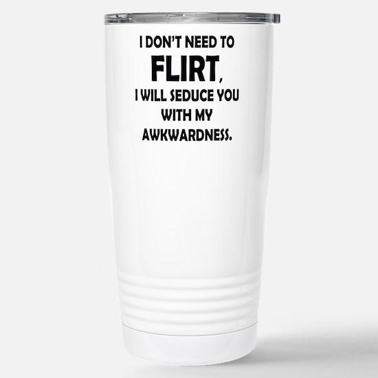 Flirt Stainless Steel Travel Mug