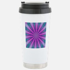 Fractalscope 01 Stainless Steel Travel Mug