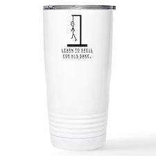 Learn to spell Travel Mug