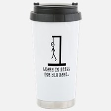 Learn to spell Travel Mug