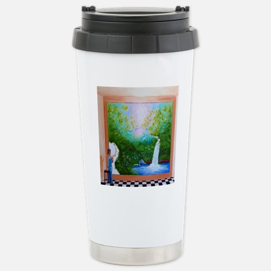 The Artist Shower Curta Stainless Steel Travel Mug