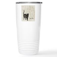 md chat noir cat map Travel Mug