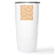 Layered Leaves_Peach Ba Travel Coffee Mug