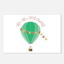Up...up... and Away Postcards (Package of 8)