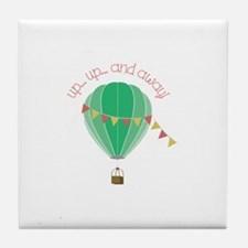Up...up... and Away Tile Coaster