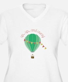 Up...up... and Away Plus Size T-Shirt