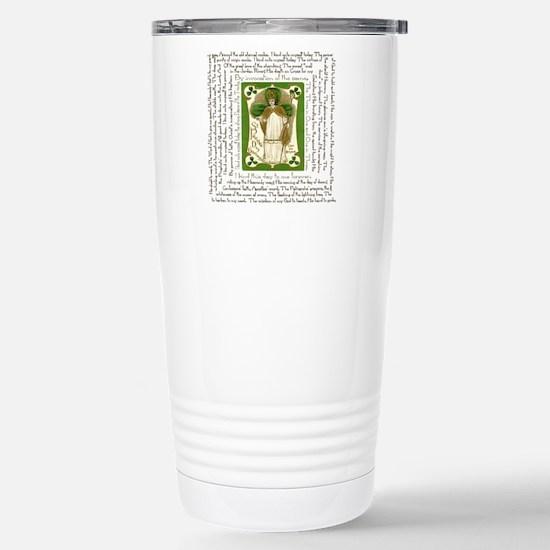 St. Patricks Breastplat Stainless Steel Travel Mug