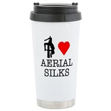 I Love Aerial Silks Travel Mug
