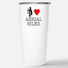 I Love Aerial Silks Travel Mug