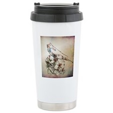 Parakeet 003 - Perched  Travel Coffee Mug