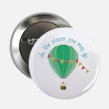 "oh, the places you may go 2.25"" Button (100 pack)"