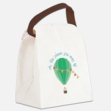 oh, the places you may go Canvas Lunch Bag